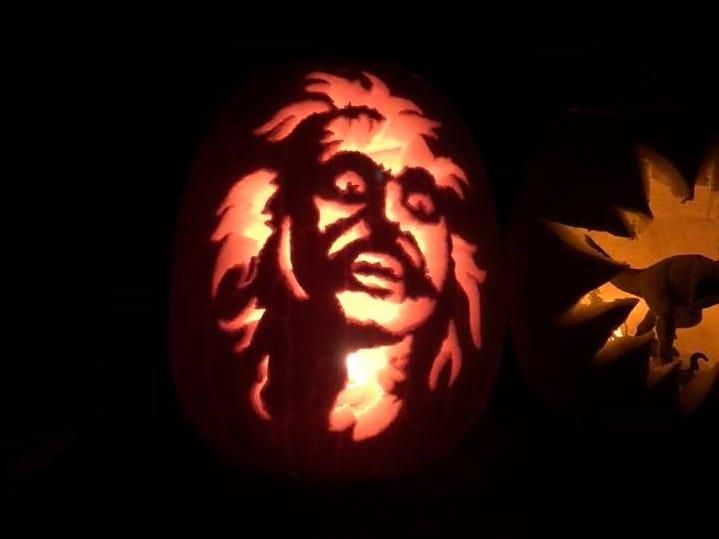 Pumpkins by Ellen Carson.