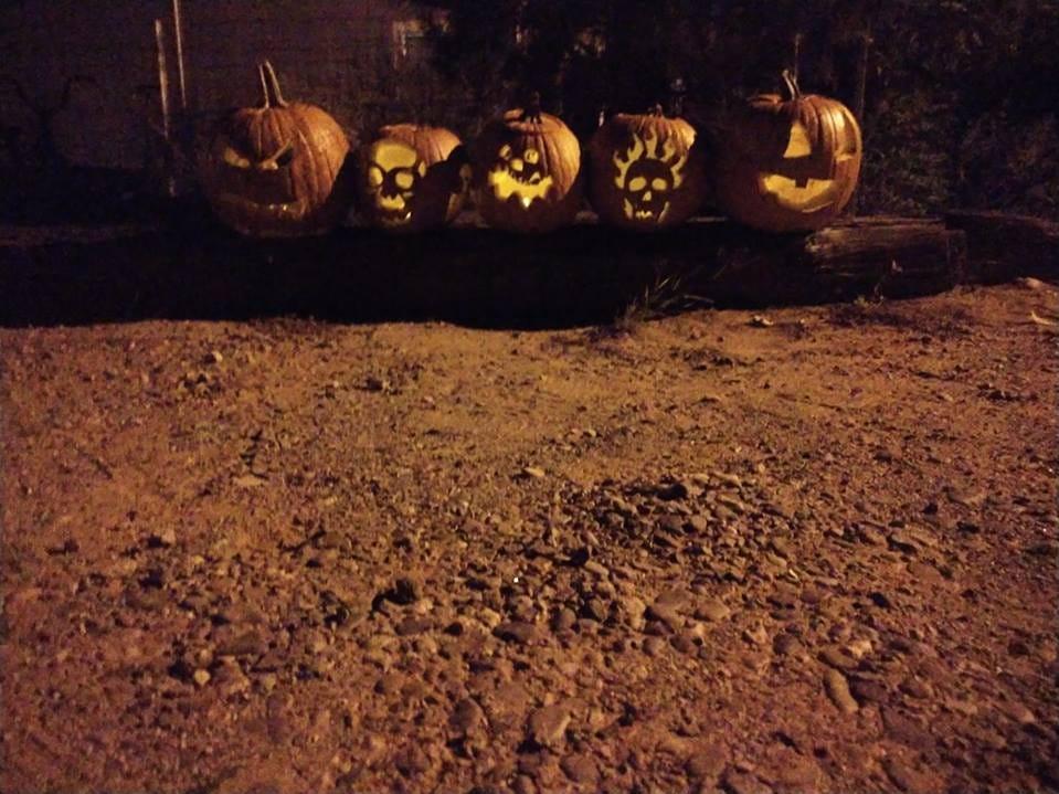Pumpkins by Natasha Nino.