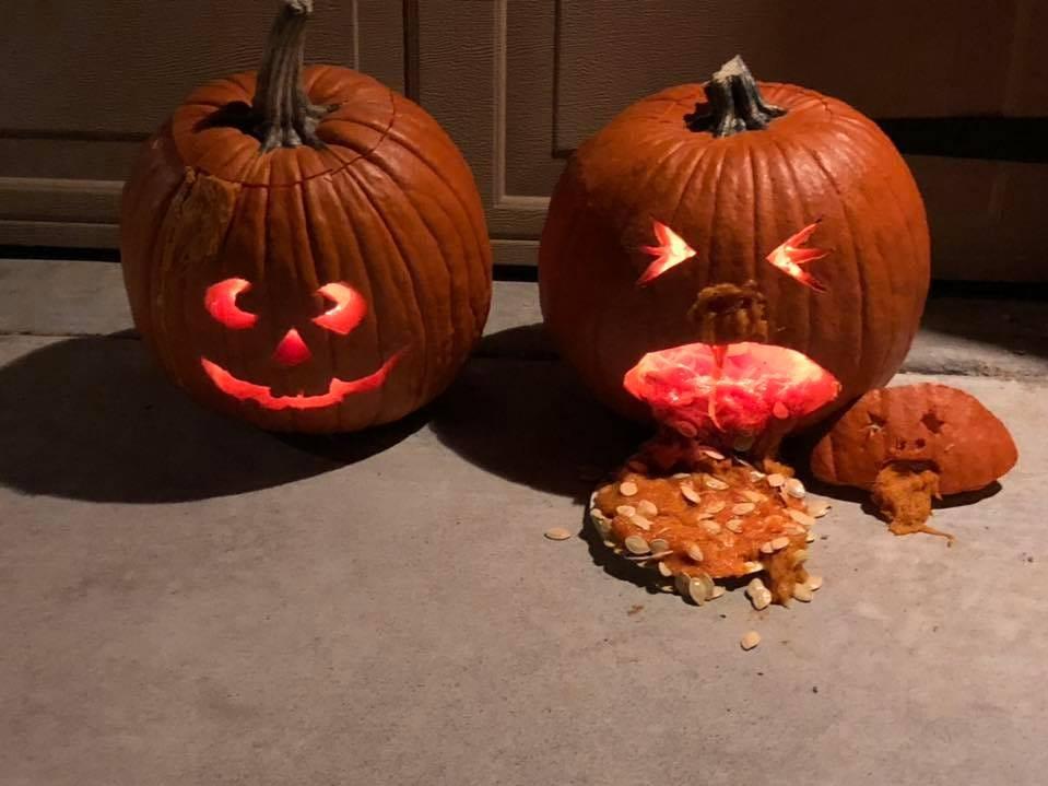 Pumpkins by Cassandre Elmore.