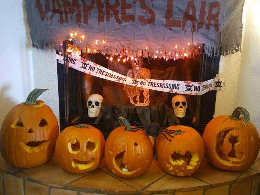 Pumpkins by Ashley Barreras, Vanessa Tellez, Freda Frietze, Alyson Barreras and family.
