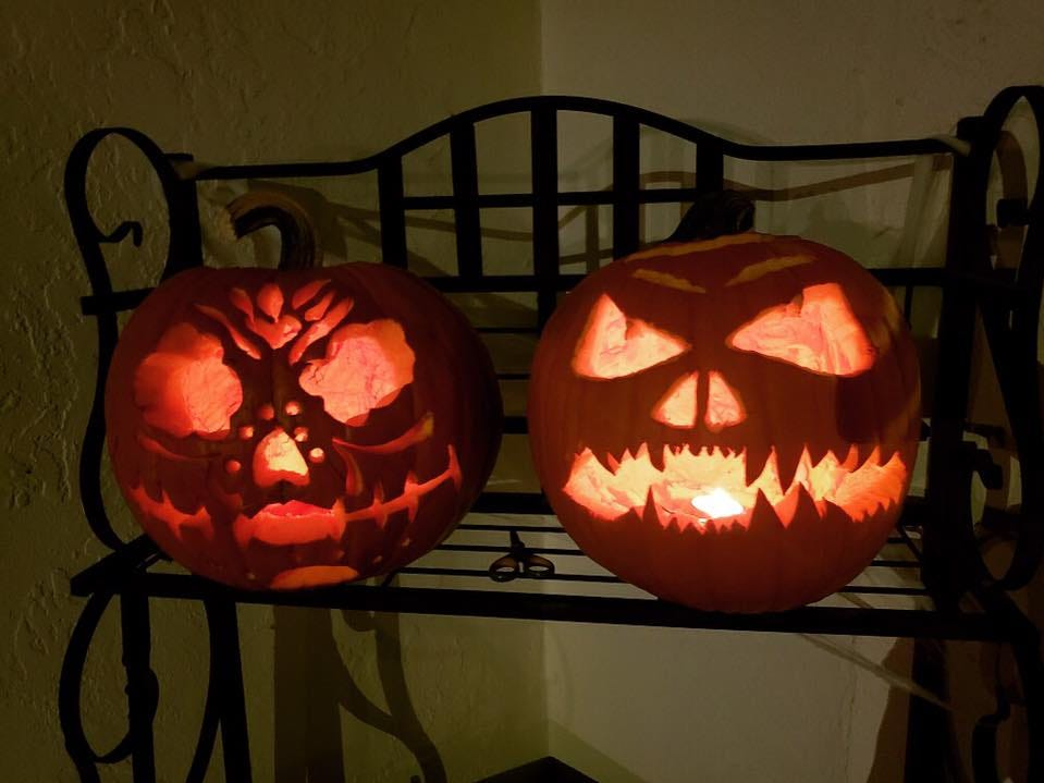 Pumpkins by Brianna Aguirre and Anthony Chanman.