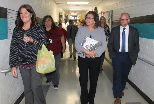 Under her two terms as governor, Martinez said the high school graduation rate is the highest it's ever been at 71 percent, up from 63 percent when she took office.