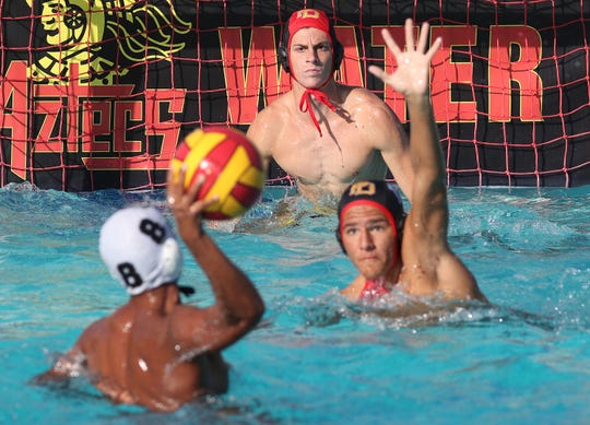 Palm Desert defends against Arroyo Valley, October 30, 2018.