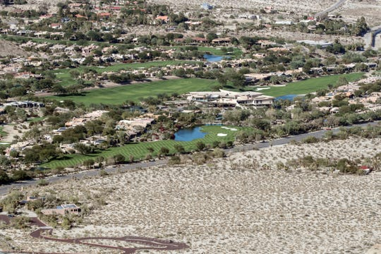 View of Bighorn Country Club in Palm Desert on Wednesday, October 31, 2018.