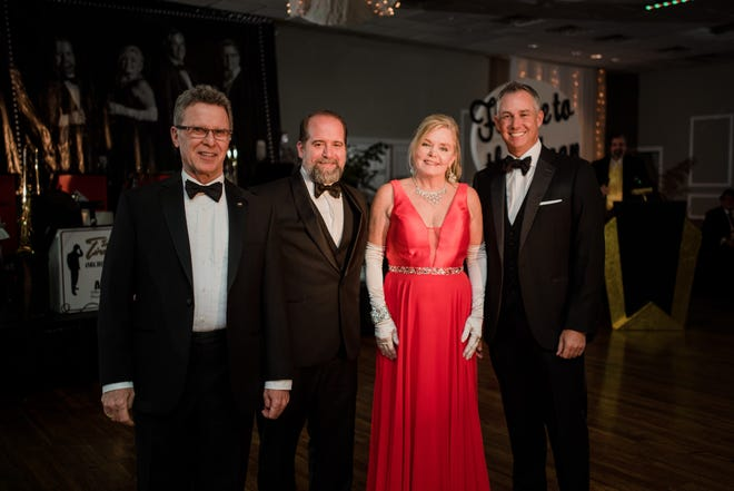 This year's Rat Pack included Troy Rafferty, Valerie Russenberger, Bob Tyler and Justin Witkin.