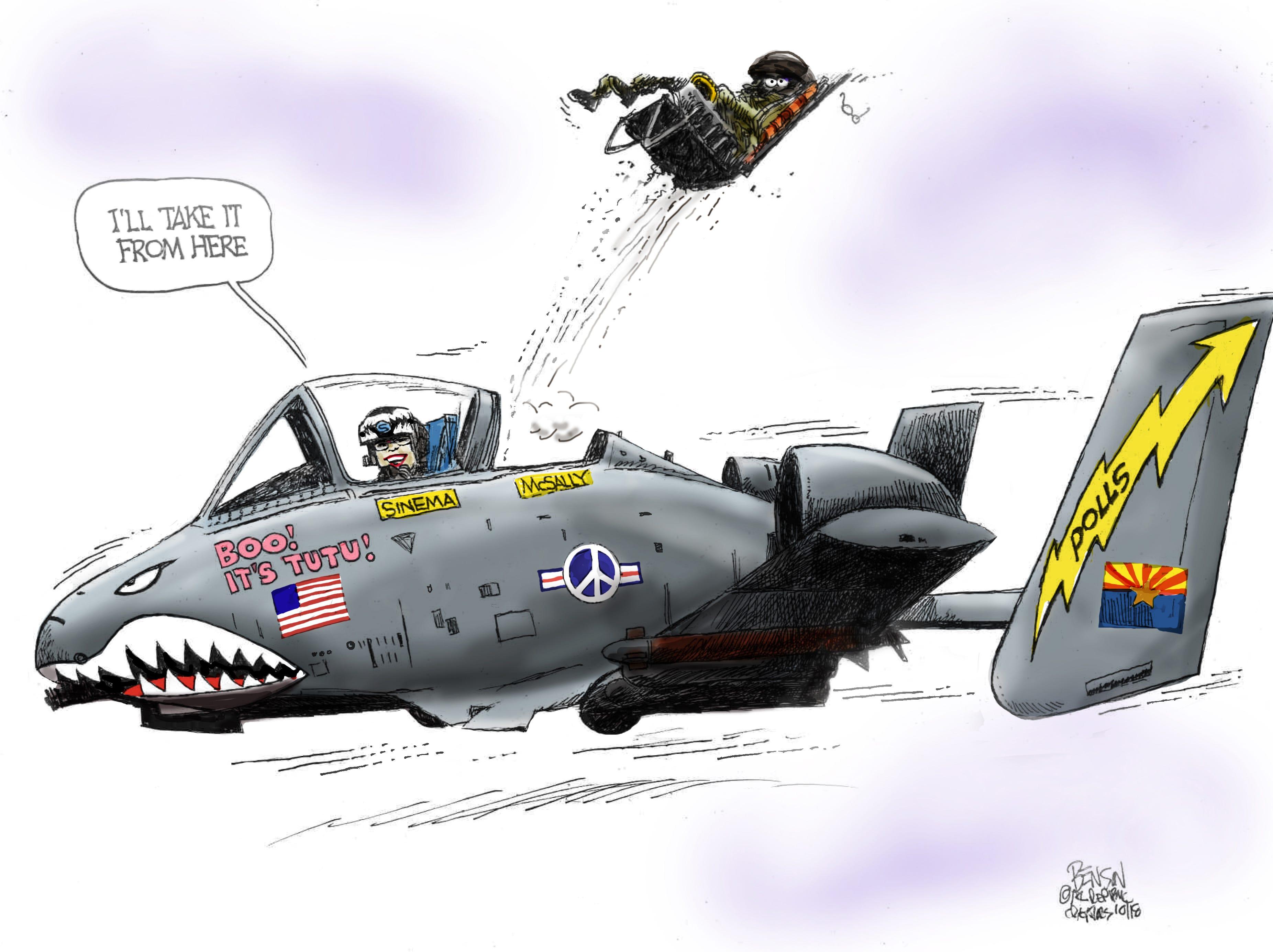 Cartoon for Oct. 31, 2018.
