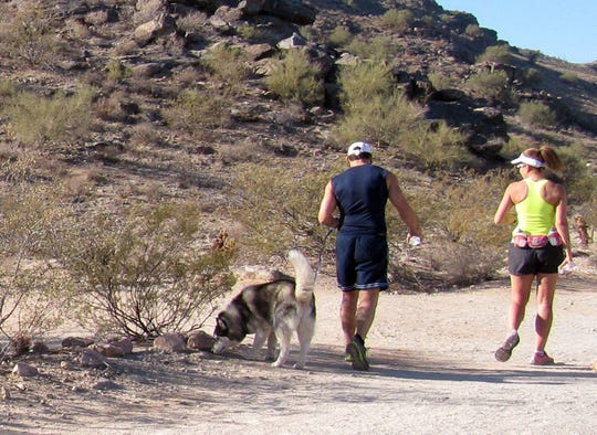 South Mountain Park boasts dozens of trails, including the Judith Tunell Accessible Trail.  Elena Mendoza South Mountain Park boasts dozens of trails, including the Judith Tunell Accessible Trail.