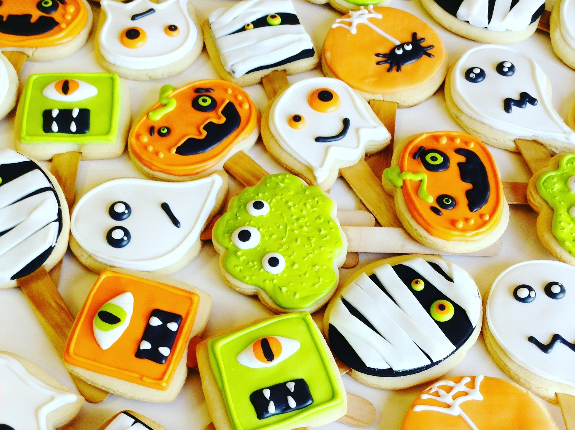 Local baker Julia Perugini is known for her creative and unique cookie designs.