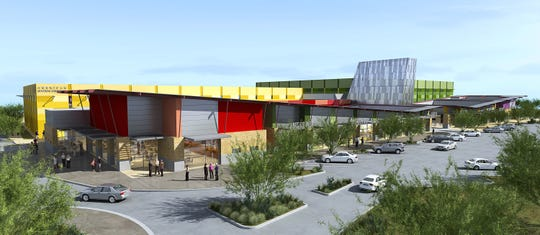 A rendering of the  Randall McDaniel Sports Center that opened in 2010. Avondale leaders said it would be a catalyst for City Center.