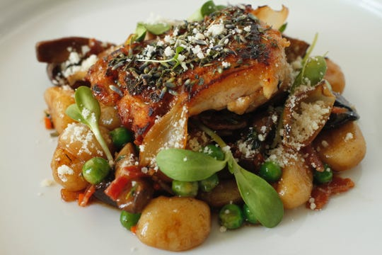 For the past year and a half, Hidden Kitchen has hosted a weekly pop-up dinner event at various locations around Phoenix. This fish dish was created by chef Ivan Jacobo.