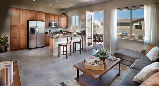 Lennar's NextGen living space.