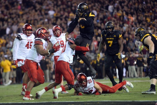 Ncaa Football Utah At Arizona State