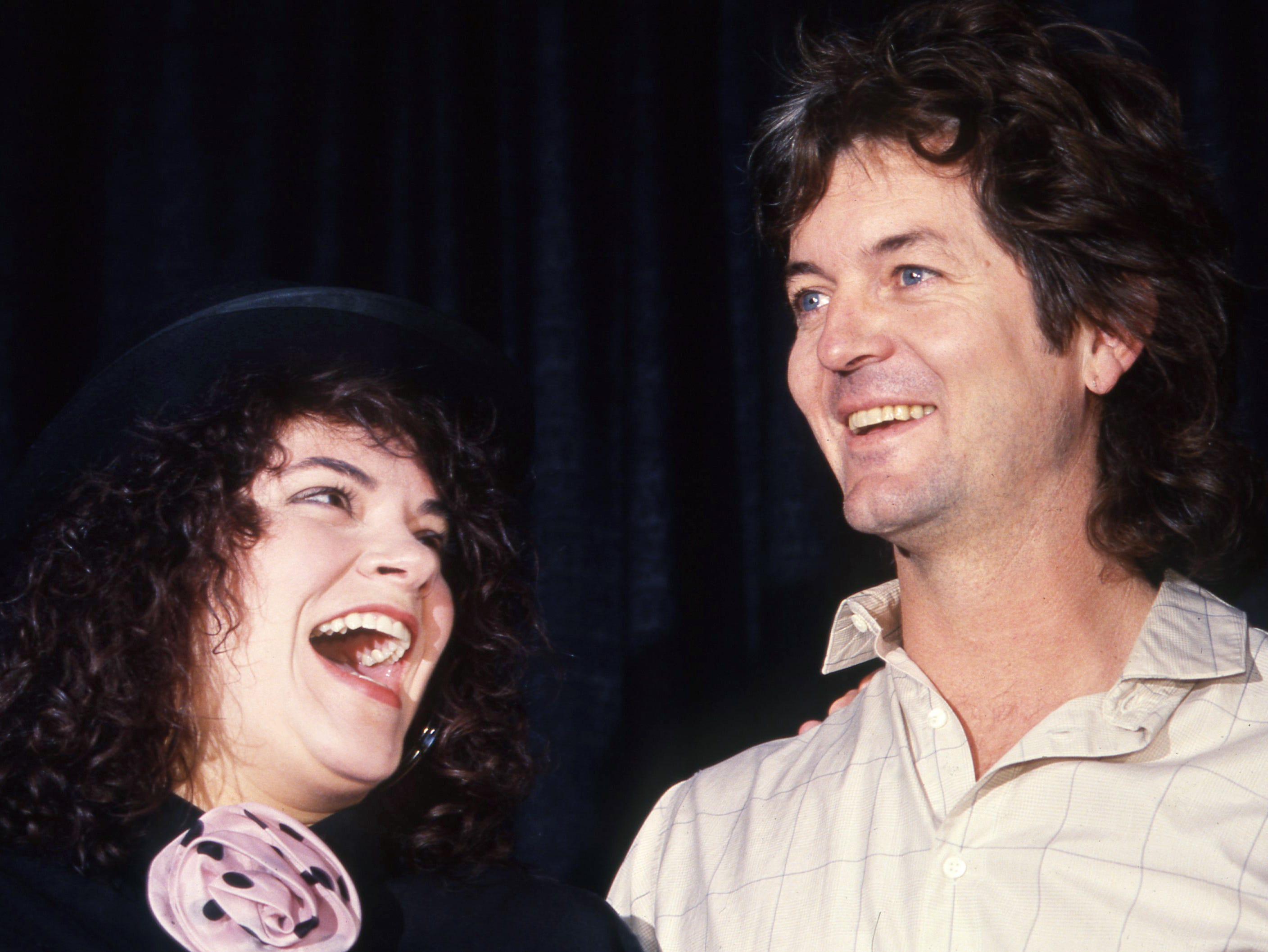Rosanne Cash is inducted into the Country Music Hall of Fame on June 10, 1988. Rodney Crowell and Cash were married from 1979 to 1992.