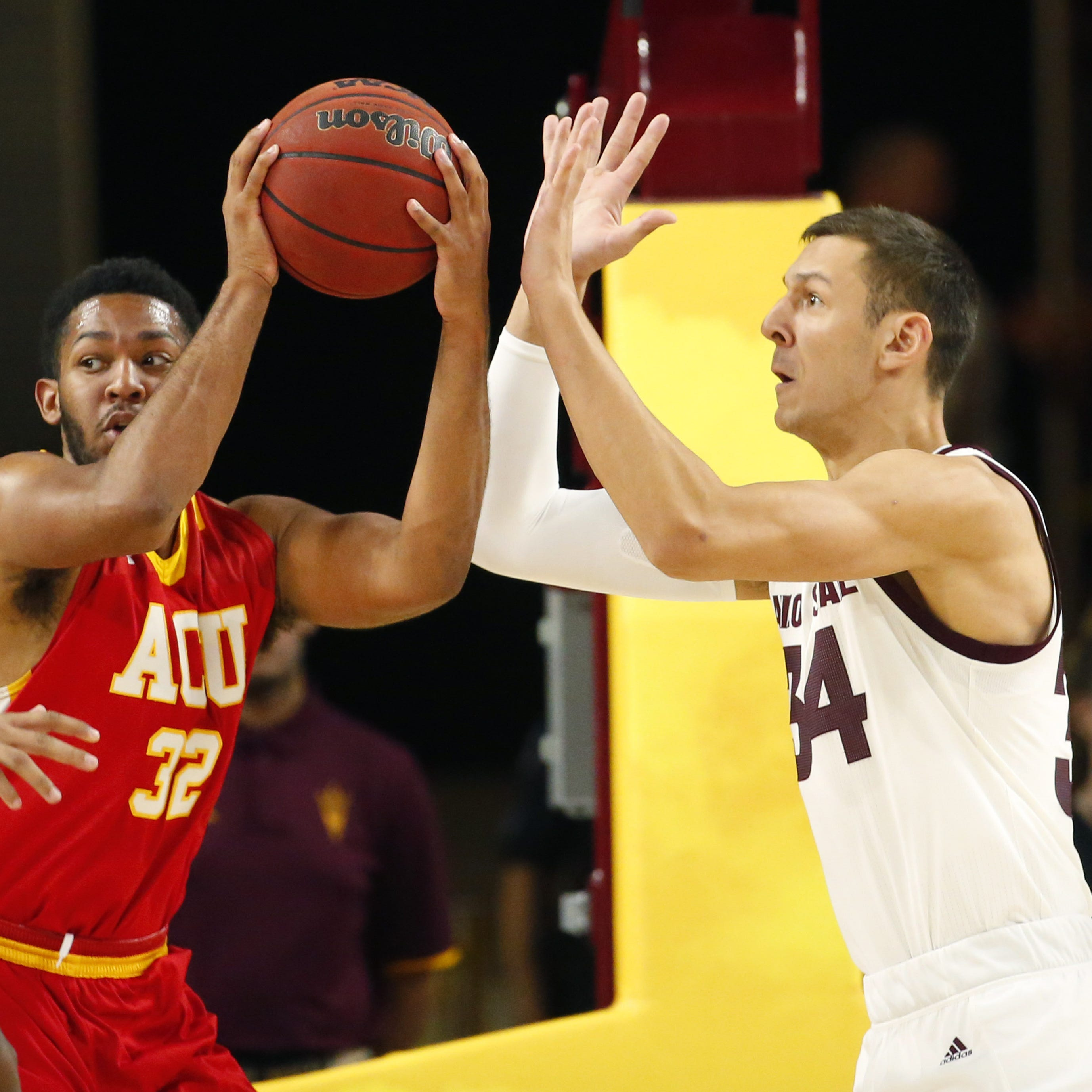 ASU basketball player Uros Plavsic adds his name to transfer portal