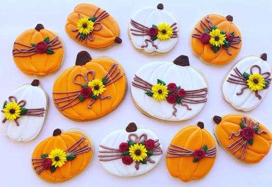 Julia Perugini Halloween Cookies