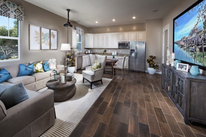 Lennar offers what it terms NextGen-a 'home within a home.'