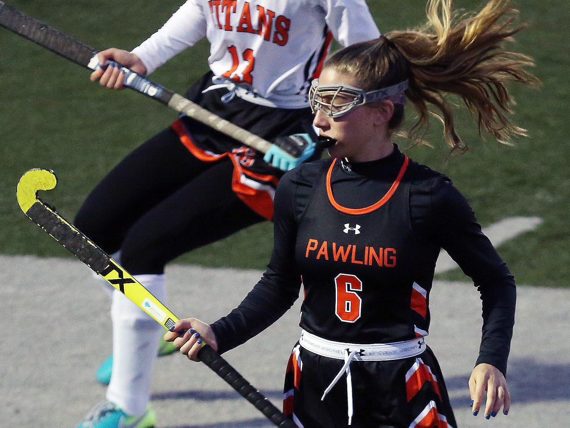 Pawling defeated Taconic Hills 1-0 in the Class C field hockey regional semifinal at Dietz Stadium in Kingston Oct. 30, 2018.