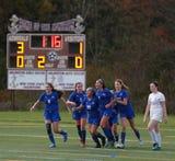 Haldane girls soccer defeats Millbrook in the Class C regional semifinal.