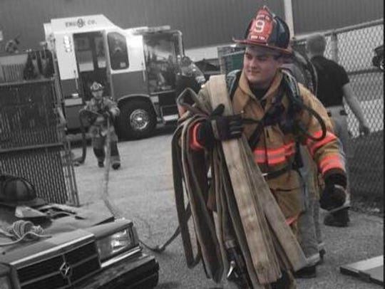 Volunteer firefighter Chase Hartlaub, 18, was killed in June 15 car crash in which he was a passenger.