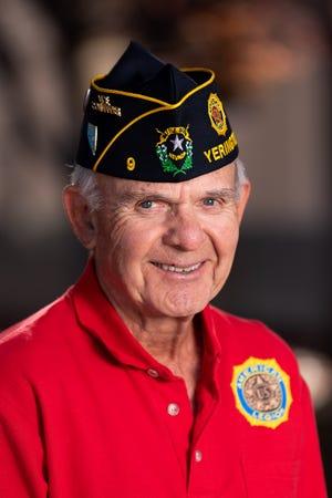 Ed Ziel, Yerington American Legion Vice Commander.