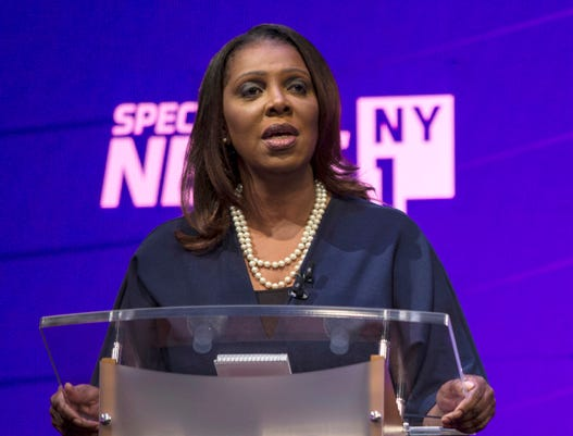 Tish James Primary Debate