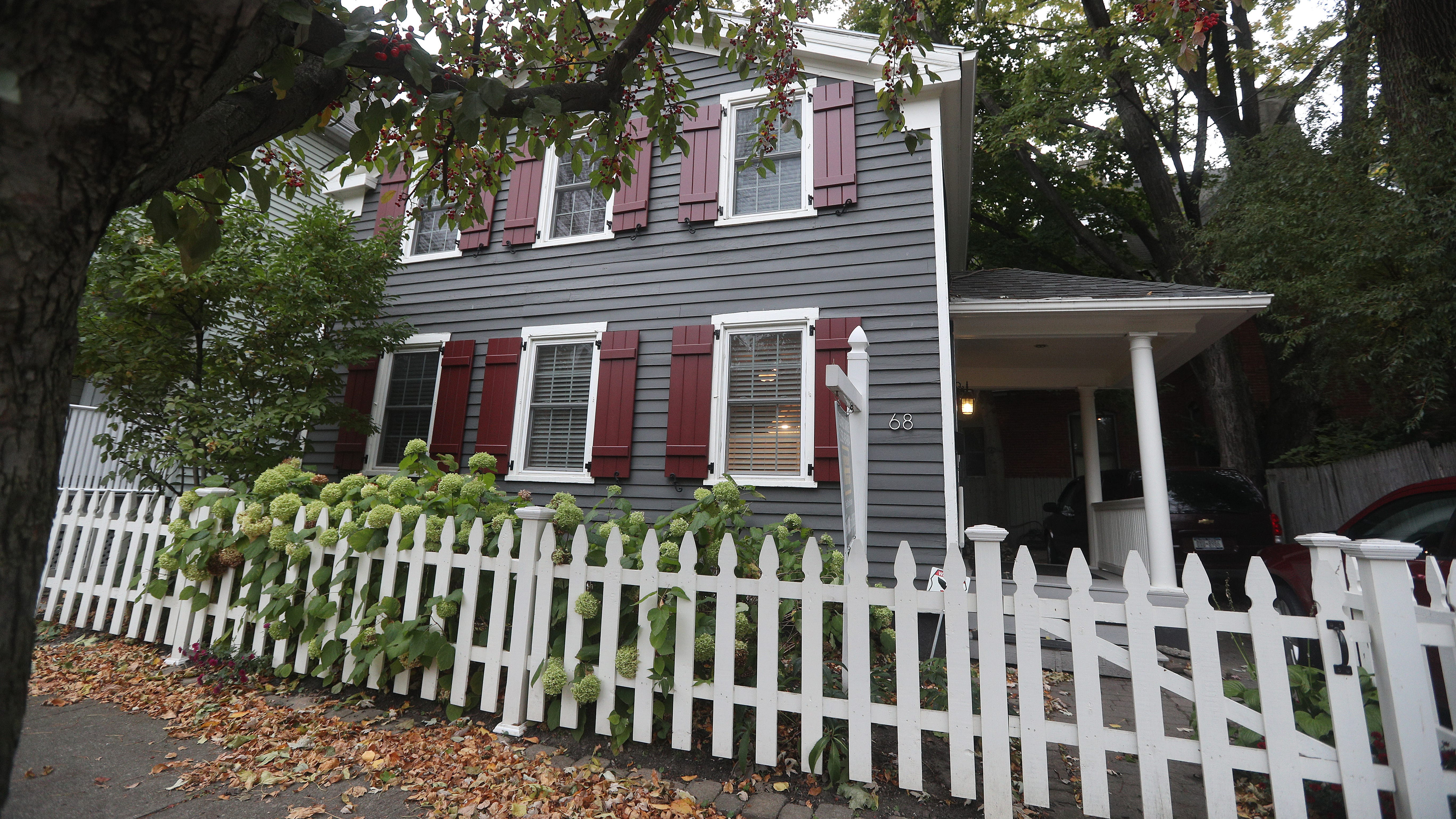 This charming 897-square-foot house in Corn Hill has wonderful curb appeal.