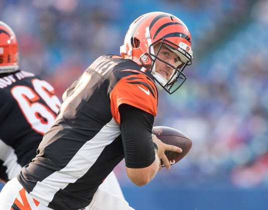 Nfl Cincinnati Bengals At Buffalo Bills