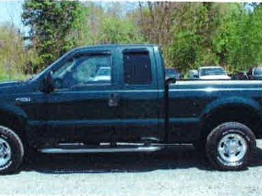 Ian Gonzales' pickup