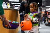 Families clad in imaginative costumes sang, danced and trick-or-treated the morning away at the Wicomico Public Library in Salisbury on Wednesday.