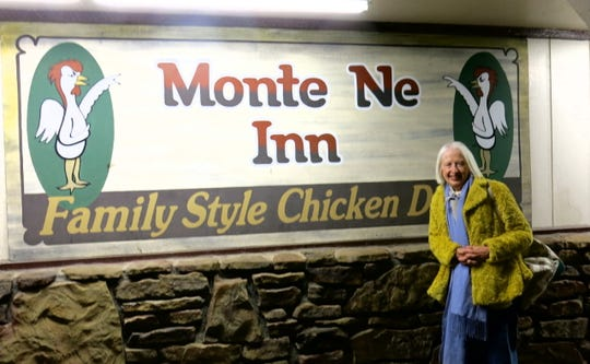 Maggie at Monte Ne Inn, Rogers, Ark., during Craft Fair Week.