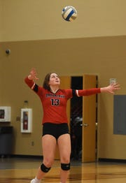 Brookings' Michaela Jewett has 158 kills, 605 assists and 344 digs on the season.