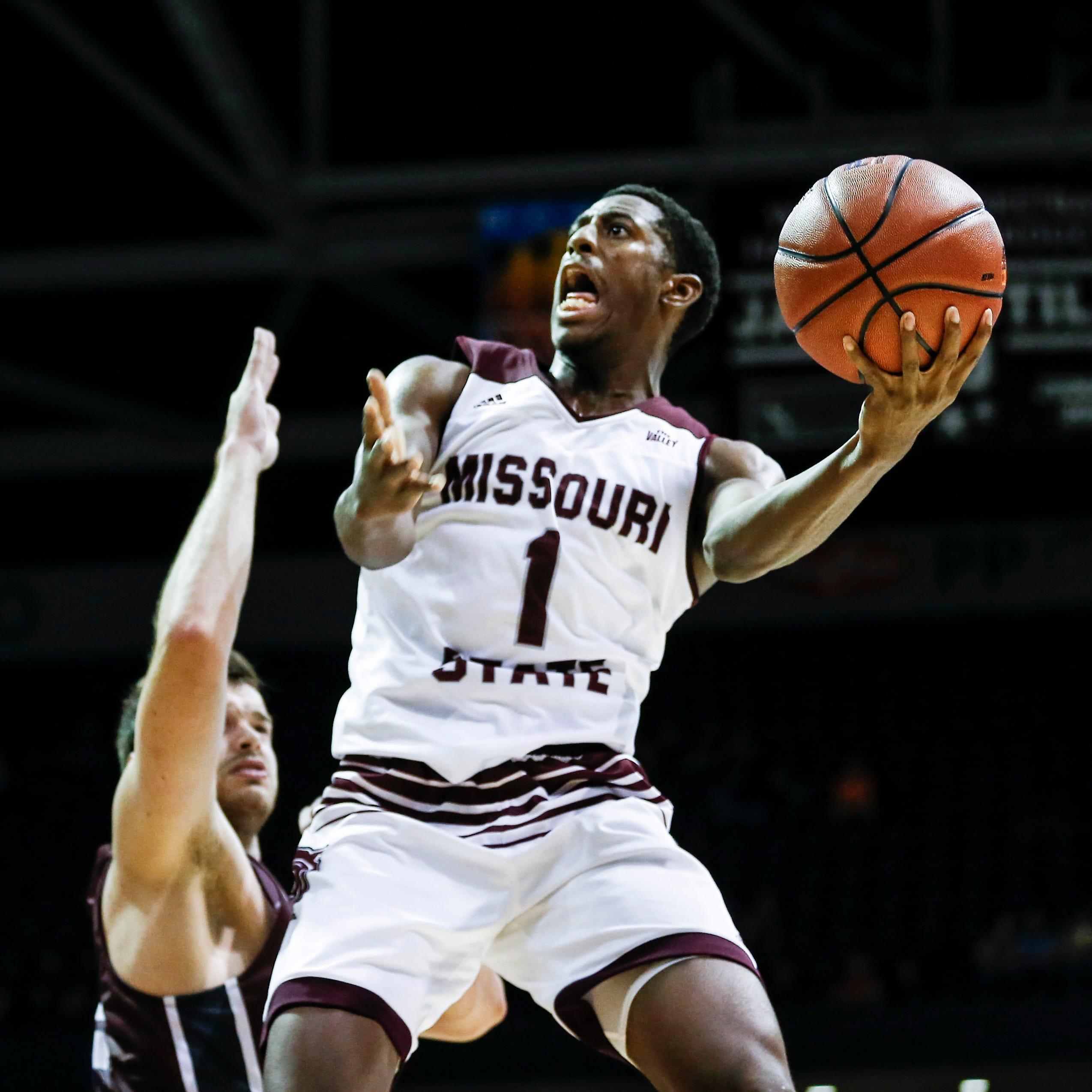 Keandre Cook plays hero as Missouri State pulls off comeback at Bradley