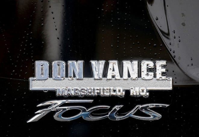 A photo of the Don Vance dealership logo.