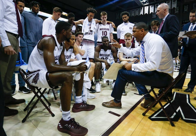 The Missouri State Bears take on the Evangel Crusaders at JQH Arena on Tuesday, Oct. 30, 2018.