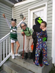 Kaileigh Marshall, age 10, Landon McNorton, age 10, Bryce McNorton, age 6, all of Fishersville.