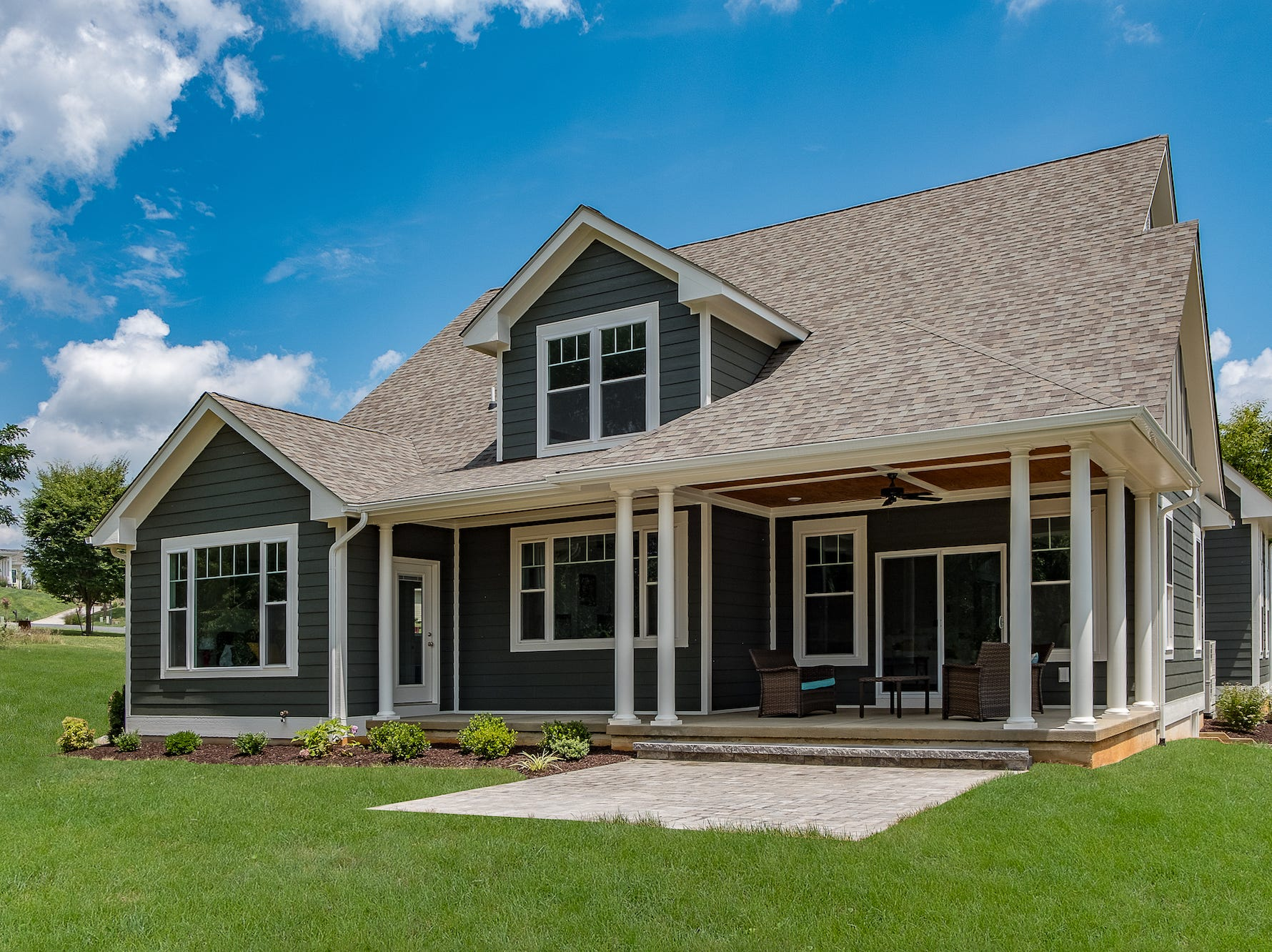 This home at 2508 Belvue Road in Waynesboro received the Pearl Home Certification of Platinum, which is the highest rating for energy efficiency.