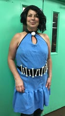 SweetNanaCakes employee Samantha Bryant as Betty Rubble.