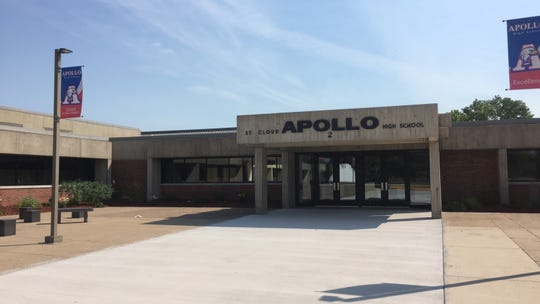 Apollo High School, pictured in 2016