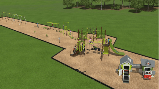 Option one for Watab Creek Park's new playground.