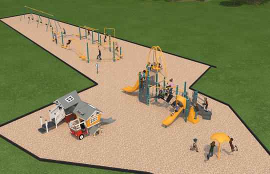 Option two for Watab Creek Park's new playground.