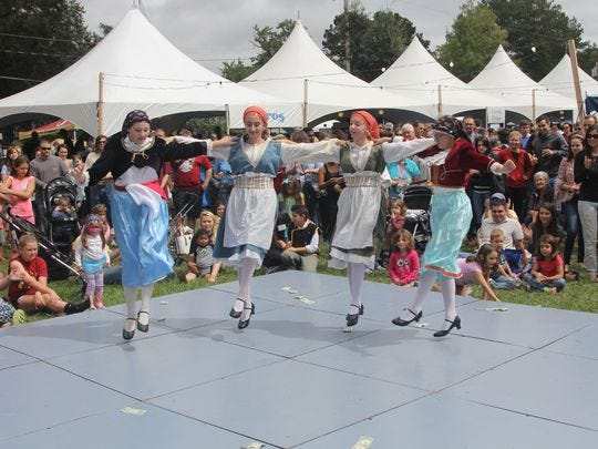 Soak in the culture and eat plenty of food at this weekend's Annual Greek Food Festival.