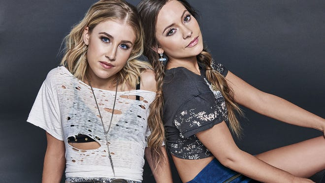 Hit county duo country duo Maddie & Tae take the stage on Saturday night in Apalachicola. Yes, it's still Seafood Festival time.