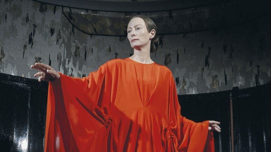 "Oscar-winner Tilda Swinton has a double role in ""Suspiria,"" opening Friday."