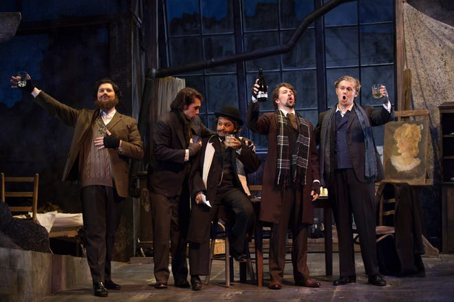 "The party is fun but does not last long in Puccini's ""La Boheme"" at FSU."