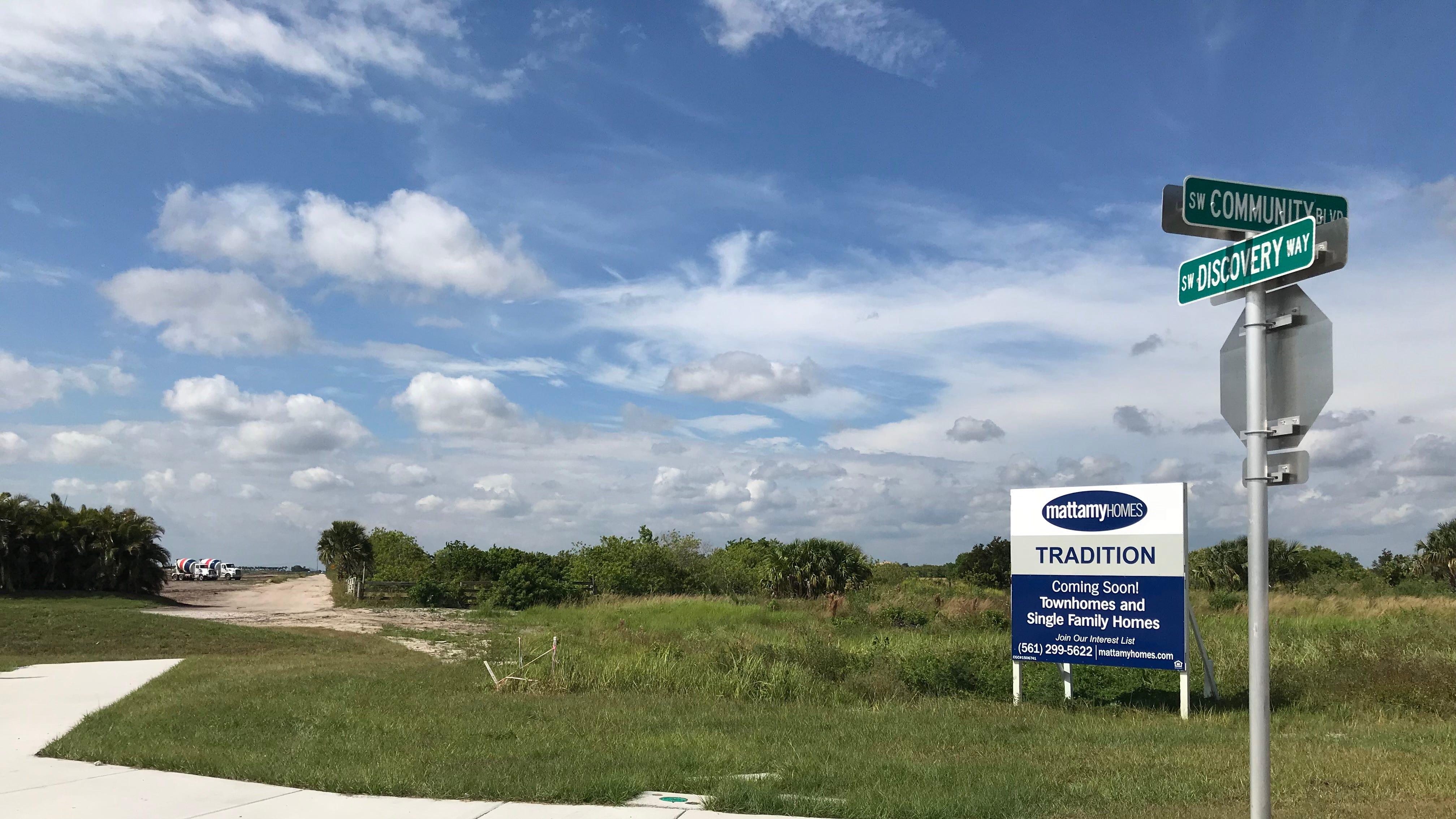 No road: Port St. Lucie blocks ans  Mattamy Homes scraps connection to Vitalia; Port St. Lucie City Council approves project
