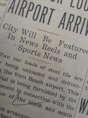 City was featured in news reels in 1937.
