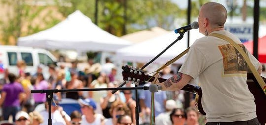 """Beverly McClellan performs at PrideFest in 2012. The former South Fork High student, who was a 2011 finalist on """"The Voice,"""" died Oct. 30, 2018."""