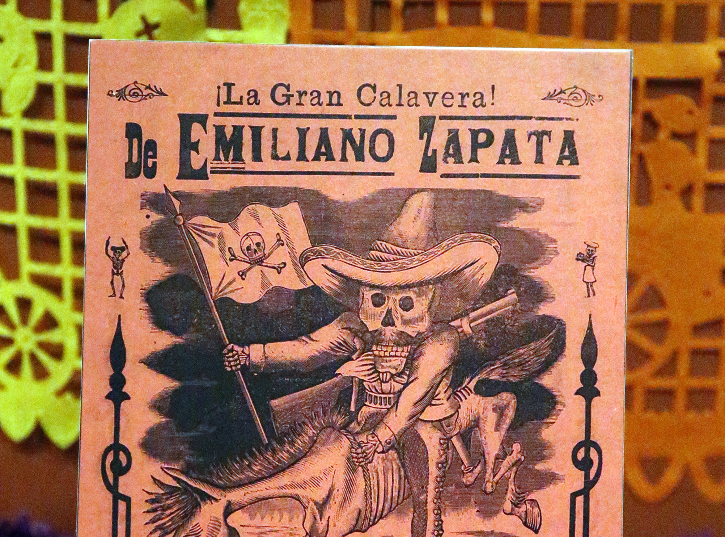 An example of the work of Mexican artist Jose Guadalupe Posada.