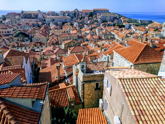 Circumnavigating the city on the tall fortification walls of Dubrovnik, Croatia offers a bird's eye view of the magnificent medieval old town. UNESCO has declared it a World Heritage Site.