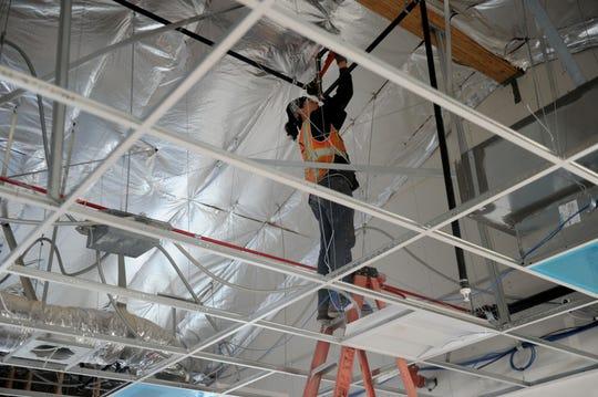 Construction work in Ventura County.